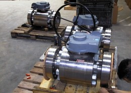 6inch 2500 Trunnion Ball Valve - Gear operated