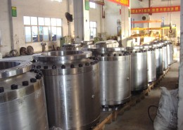Assembly of Large Bore Ball Valves