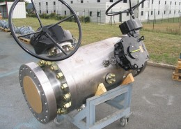 Modular DBB BL-NL-BL 10inch 900 trunnion Mount
