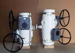 Modular DBB BL-NL-BL trunnion Mount Gear Operated